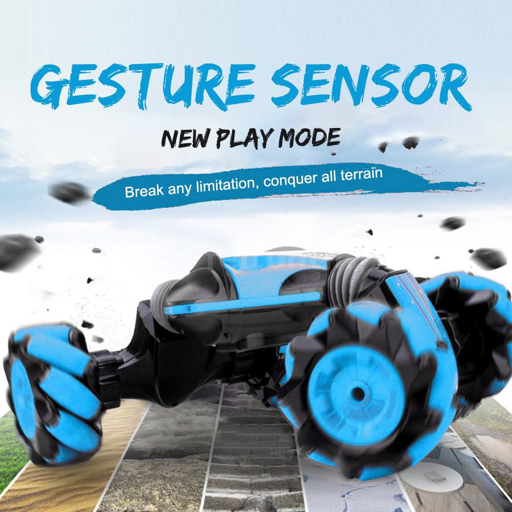 2.4G 4WD RC Stunt Auto Off Road Gesten Sensor Ferngesteuertes Car Kids Spielzeug